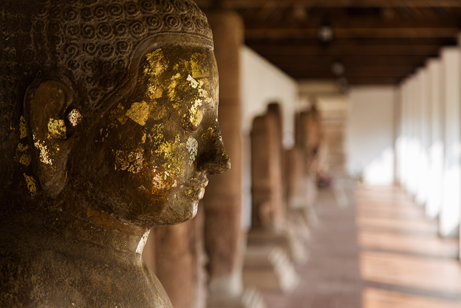 Fabian Fröhlich, Vientiane, Statue of Jayavarman VII at That Luang