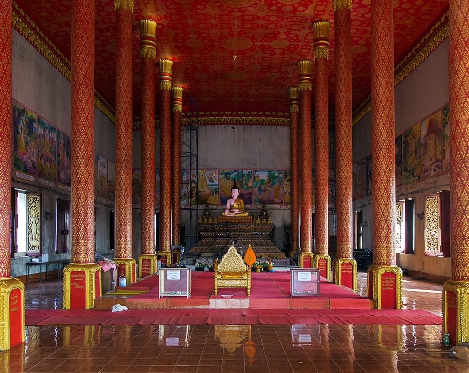 Fabian Fröhlich, Vientiane, Wat That Luang Neua