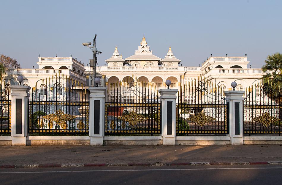Fabian Fröhlich, Vientiane, Presidential Palace