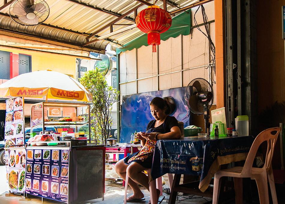 Fabian Fröhlich, Vientiane, Noodle Soup Lady