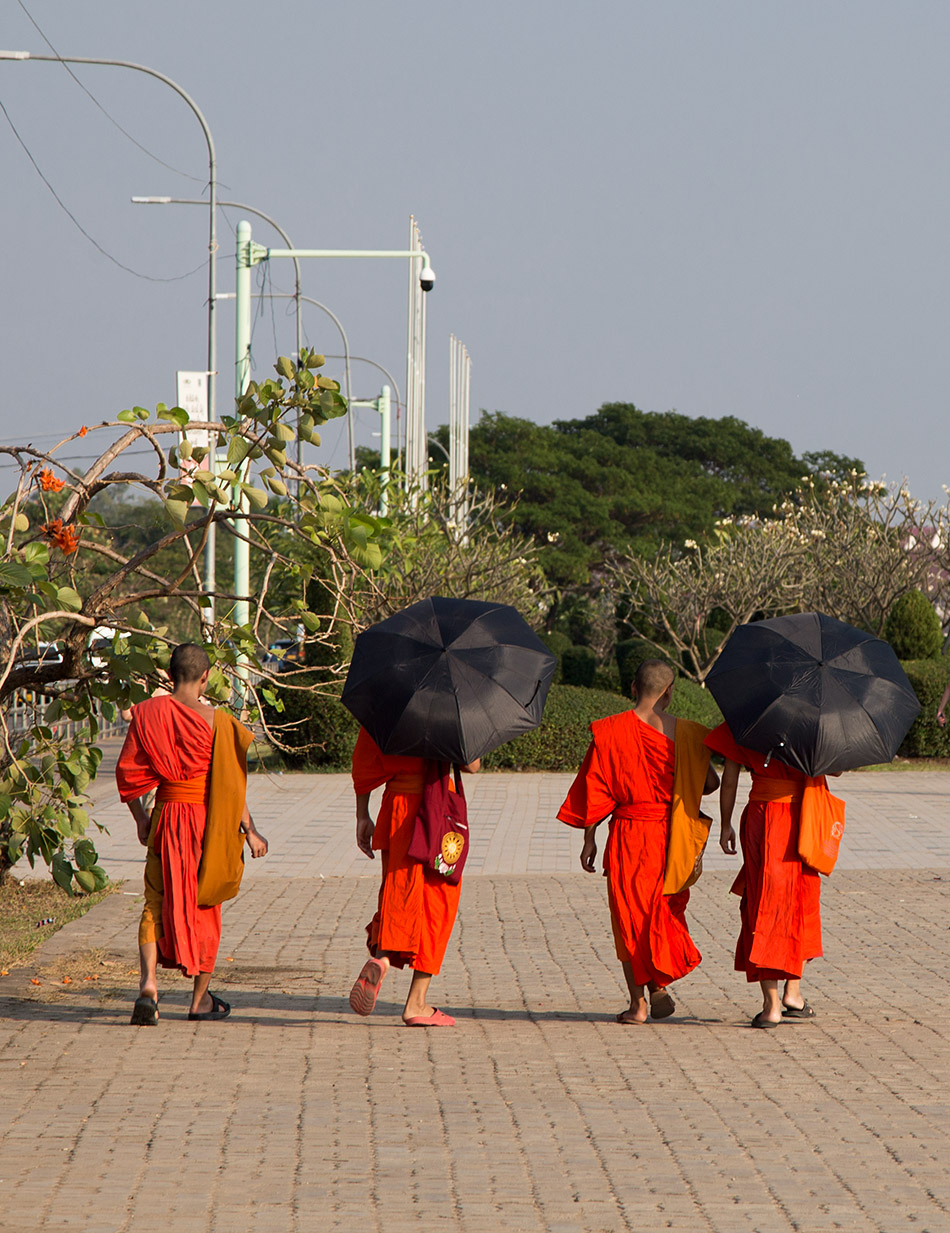 Fabian Fröhlich, Vientiane, Monka at Sithane Road