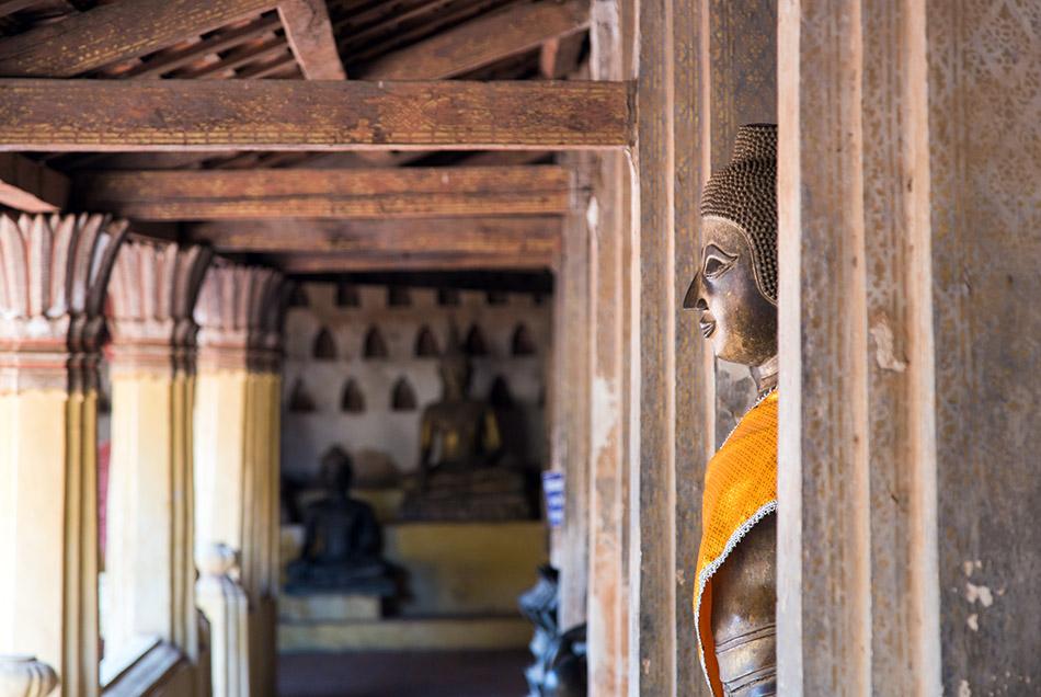 Fabian Fröhlich, Vientiane, Buddha at Wat Si Saket
