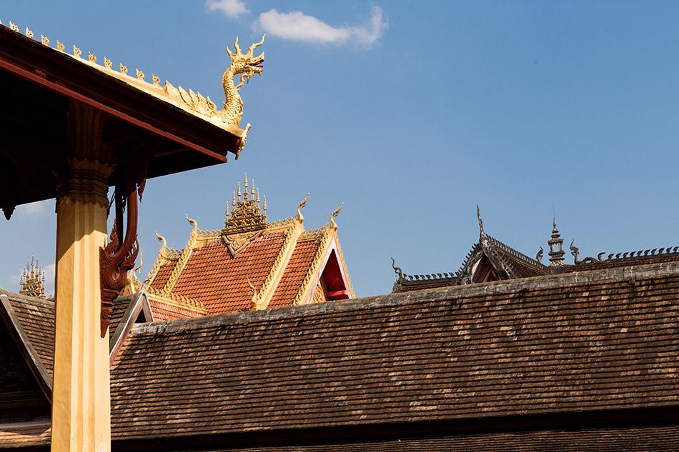 Fabian Fröhlich, Vientiane, Wat Si Saket