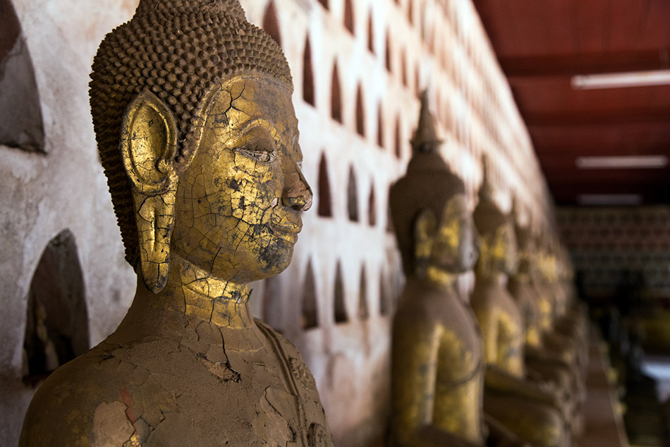 Fabian Fröhlich, Vientiane, Buddhas at Wat Si Saket