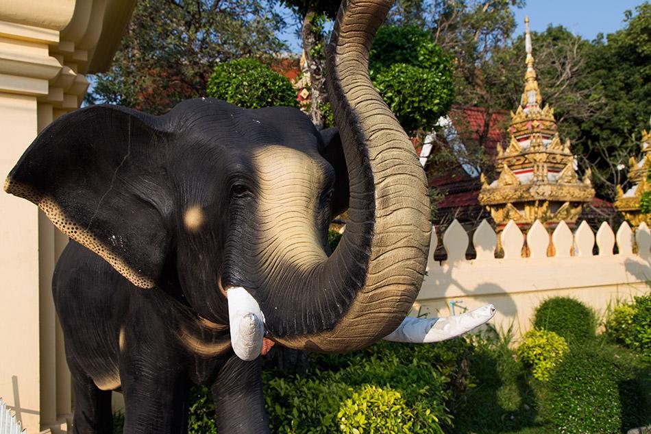 Fabian Fröhlich, Vientiane, Wat Chan