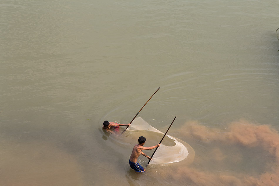 Mekong, fishing