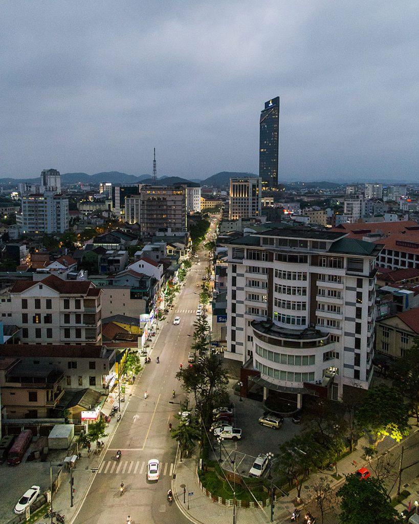 Fabian Fröhlich, Vietnam, Huế, city view