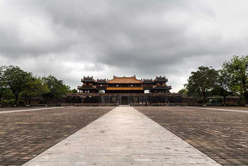 Fabian Fröhlich, Vietnam, Huế, Imperial City, Meridian Gate (Ngọ Môn)