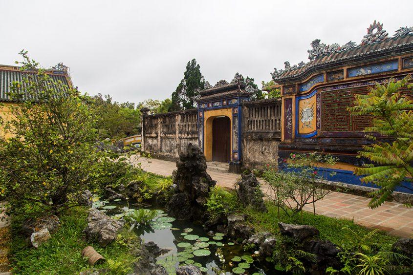 Fabian Fröhlich, Vietnam, Huế, Imperial City Hoàng thành)