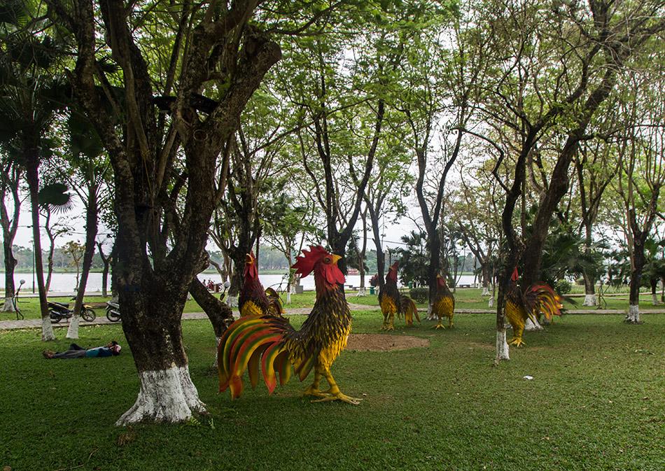 Fabian Fröhlich, Vietnam, Huế, Le Loi Park (Công viên Lê Lợi)