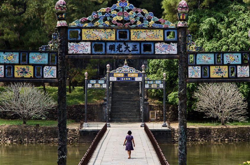 Fabian Fröhlich, Hue, Kaisergräber, Tomb of Emperor Minh Mạng