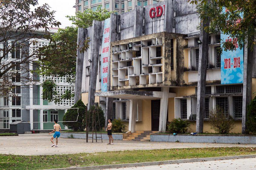 Fabian Fröhlich, Vietnam, Huế, Pedagogical University (Trường Đại học Sư phạm Huế)