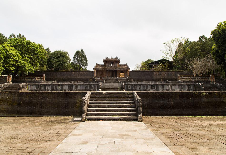 Fabian Fröhlich, Hue, Kaisergräber, Tomb of Emperor Thiệu Trị