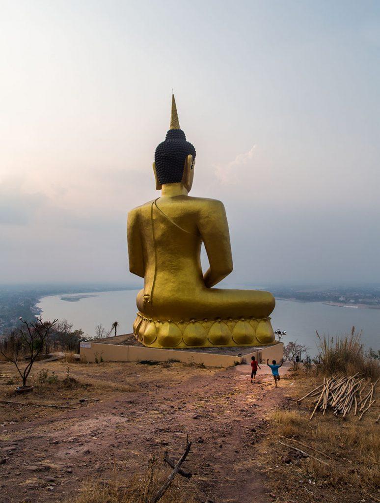 Pakse, Golden Buddha of Wat Phou Salao