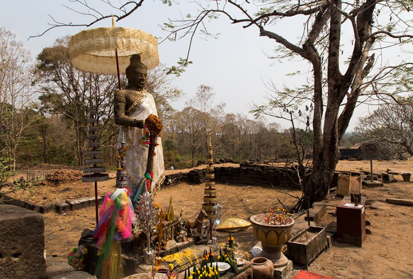 Fabian Fröhlich, Champasak, Vat Phou, Statue of Kammatha