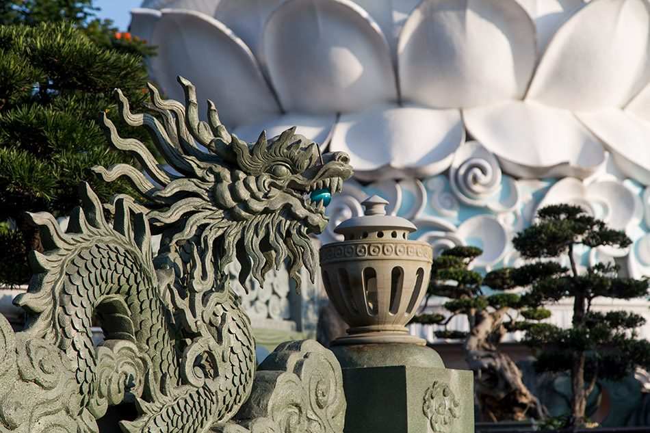Da Nang, Linh Ứng Pagoda, Dragon, Lady Buddha