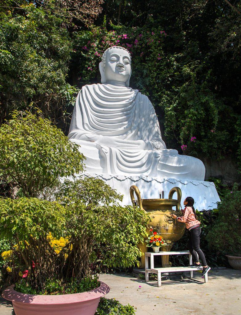 Da Nang, Vietnam, Marble Mountains, Buddha Statue on Thuy Son