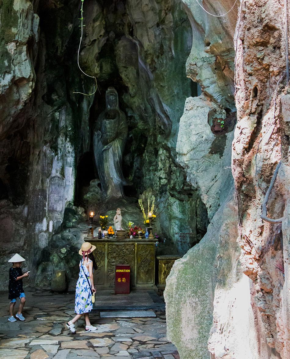 Da Nang, Vietnam, Marble Mountains, Huyen Khong Cave