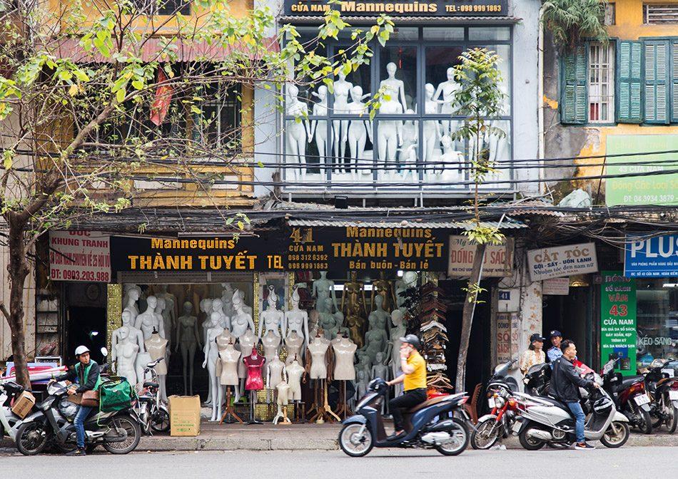 Fabian Fröhlich, Hanoi, Mannequins