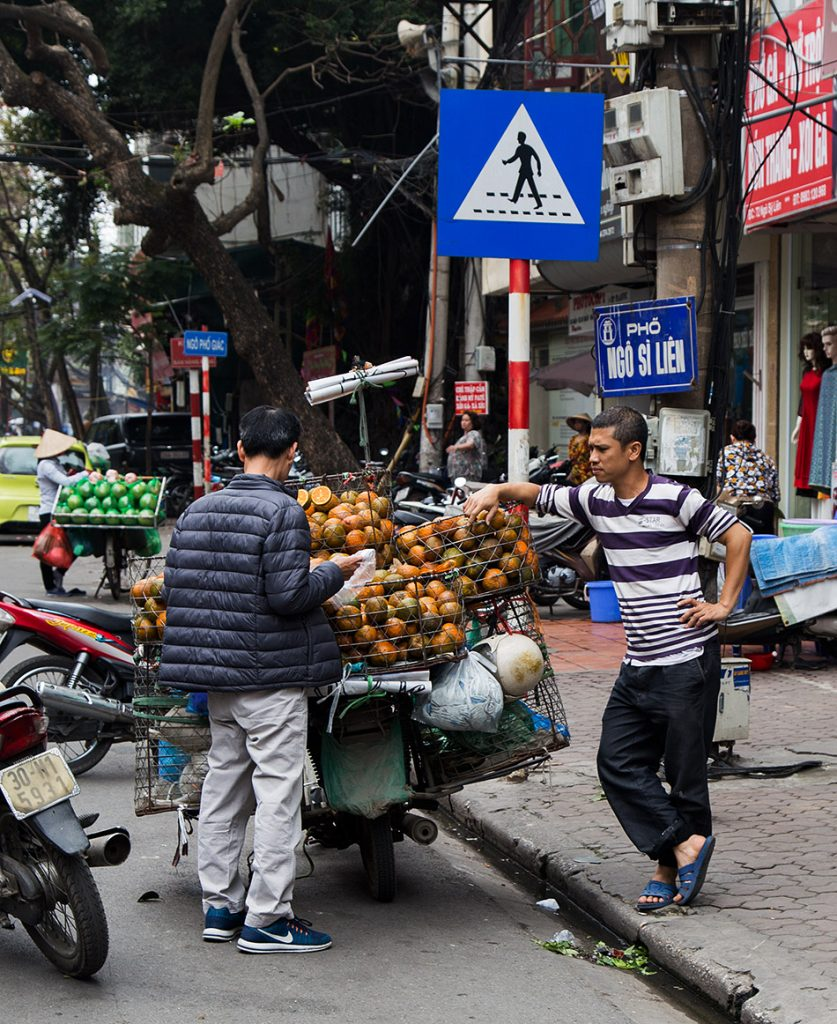 Fabian Fröhlich, Hanoi, Street Scene