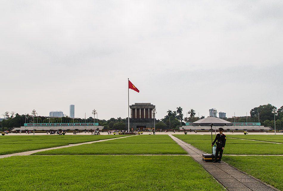 Fabian Fröhlich, Hanoi, Lăng Chủ Tịch Hồ Chí Minh (Hồ Chí Minh Mausoleum)