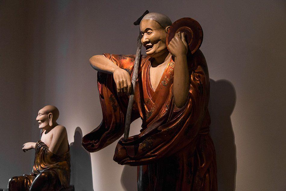 Fabian Fröhlich, Hanoi, Patriarchs from the Tây Phương Pagoda (Vietnam National Fine Arts Museum)