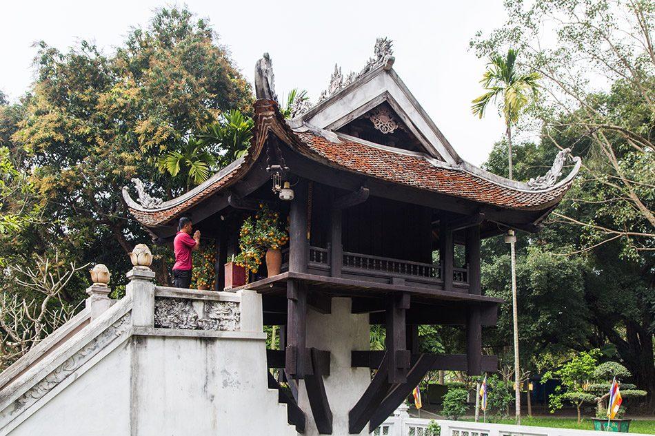 Fabian Fröhlich, Hanoi, Chùa Một Cột (One Pillar Pagoda)