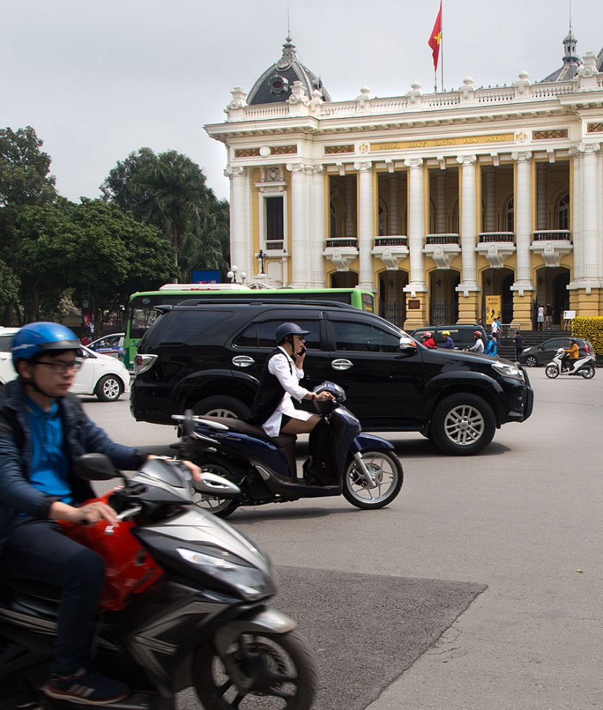 Hanoi, French Quarter, Opera House