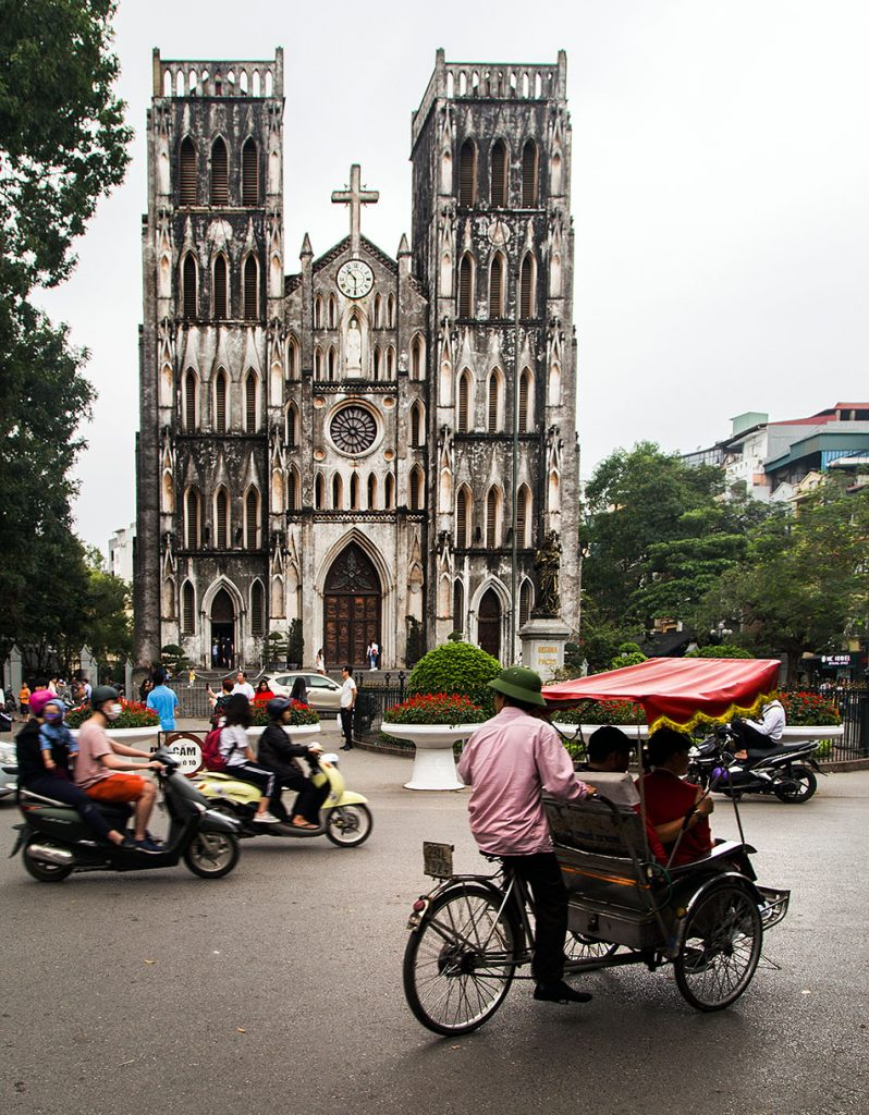 Hanoi, Old Quarter, St. Joseph's Cathedral