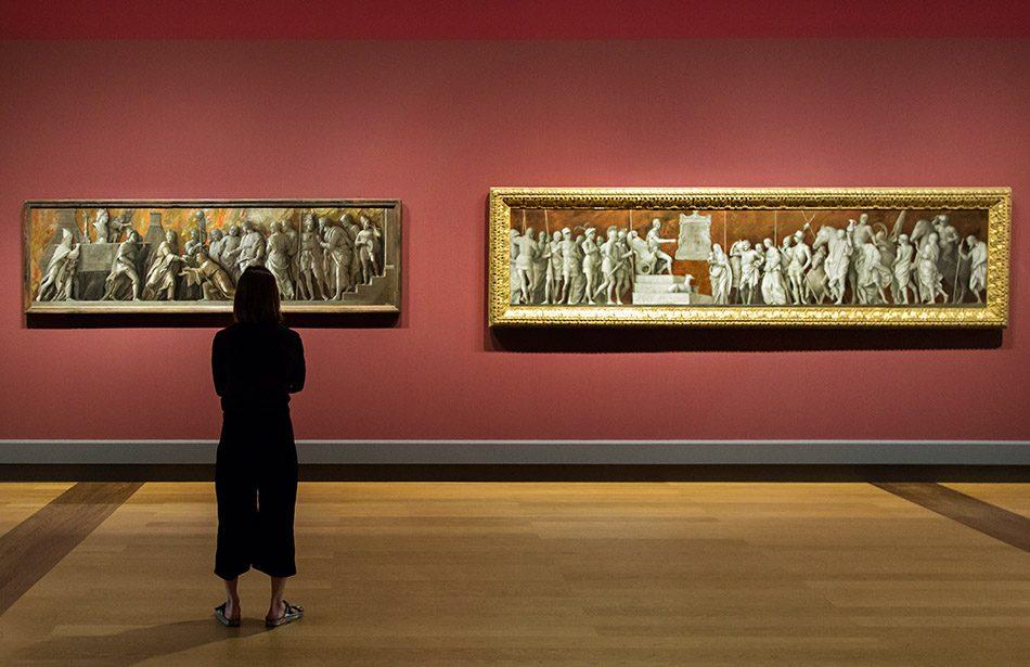 Fabian Fröhlich, Berlin, Gemäldegalerie, Mantegna Bellini, Die Einführung des Kultes der Kybele