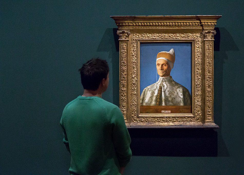 Fabian Fröhlich, Berlin, Gemäldegalerie, Mantegna Bellini, Der Doge Loredan