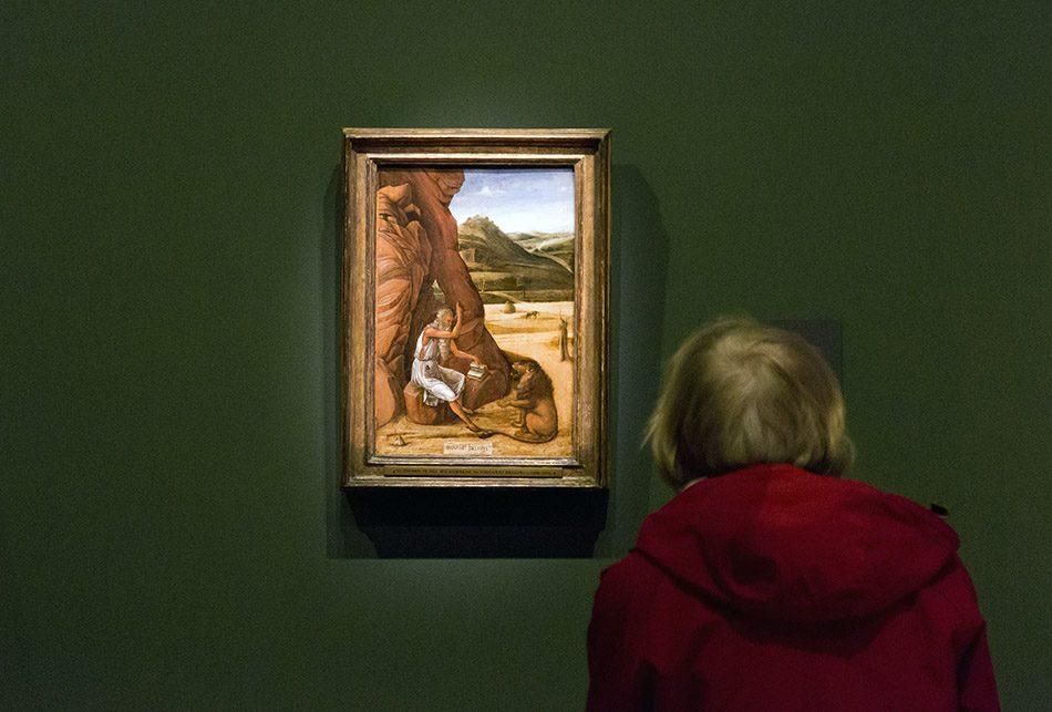 Fabian Fröhlich, Berlin, Gemäldegalerie, Mantegna Bellini, Der heilige Hieronymus