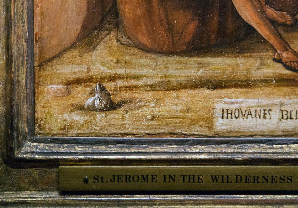 Fabian Fröhlich, Berlin, Gemäldegalerie, Mantegna Bellini, Grumpy Rabbit