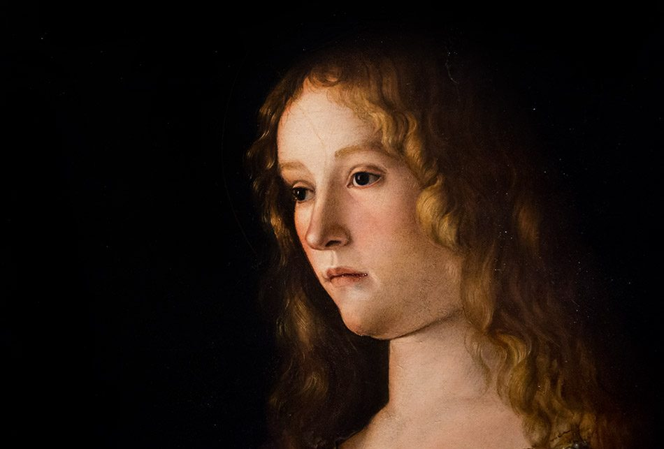 Fabian Fröhlich, Berlin, Gemäldegalerie, Mantegna Bellini, Maria Magdalena