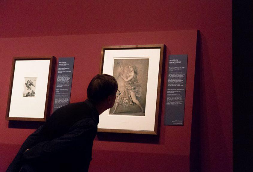 Fabian Fröhlich, Berlin, Gemäldegalerie, Mantegna, Tanzende Muse
