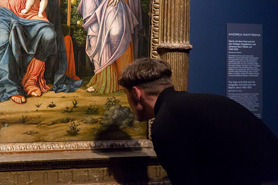 Fabian Fröhlich, Berlin, Gemäldegalerie, Mantegna Bellini, Sacra Conversiazione