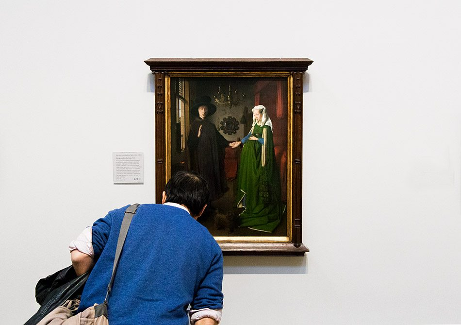 Fabian Fröhlich, National Gallery London, Jan van Eyck, The Arnolfini Portrait