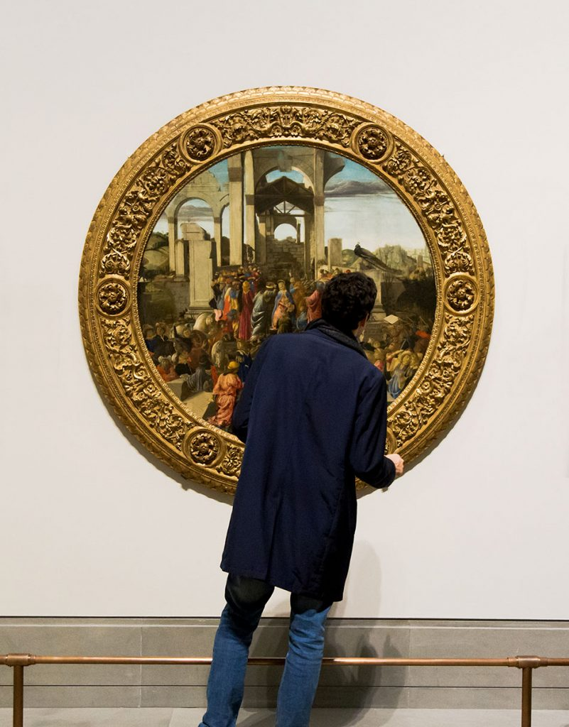 Fabian Fröhlich, National Gallery London, Sandro Botticelli, The Adoration of the Kings