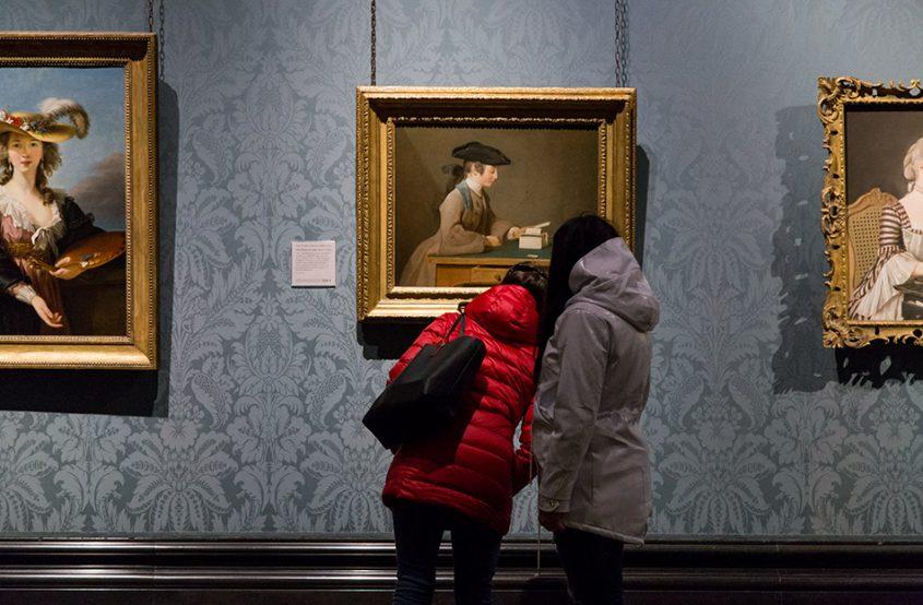 Fabian Fröhlich, National Gallery London, Jean-Siméon Chardin, The House of Cards