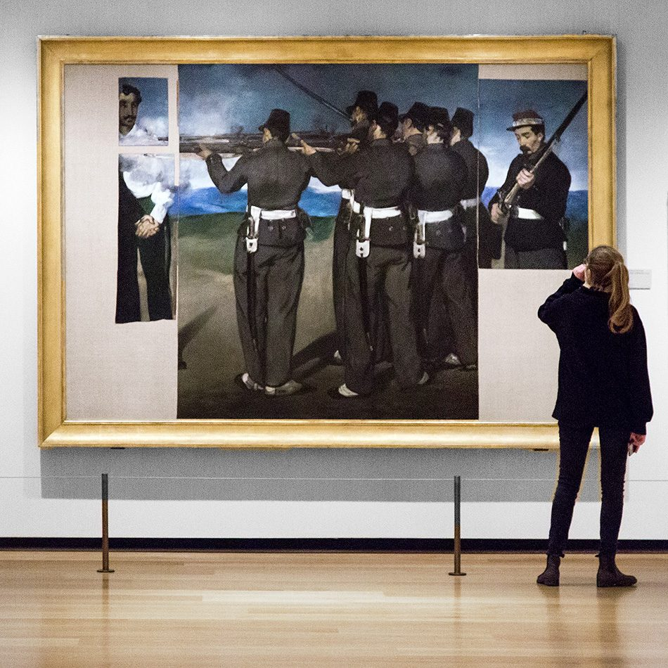 fabian Fröhlich, National Gallery London, Edouard Manet, The Execution of Maximilian