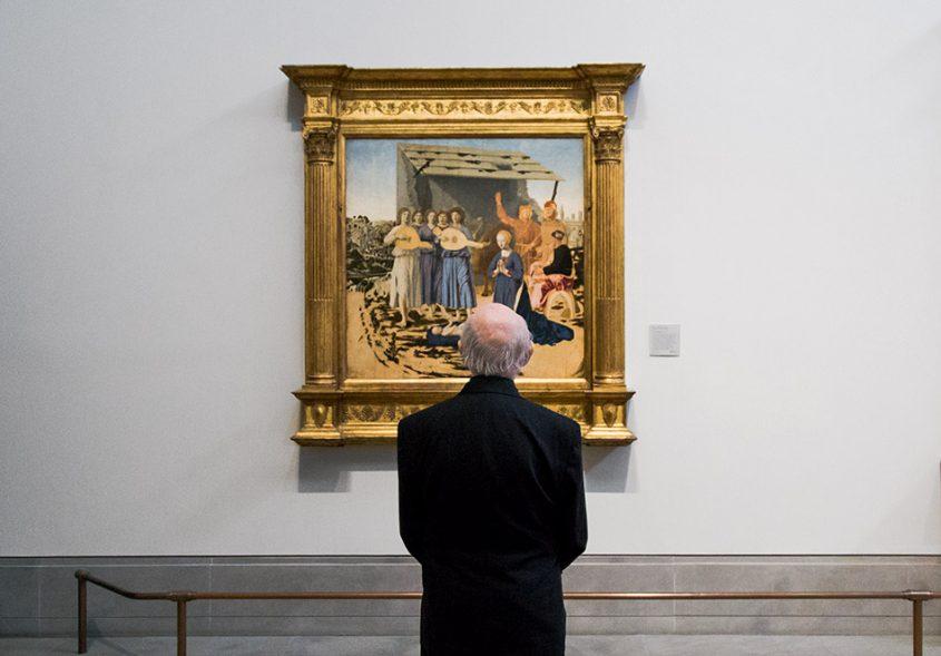 Fabian Fröhlich, National Gallery London, Piero della Francesca, The Nativity