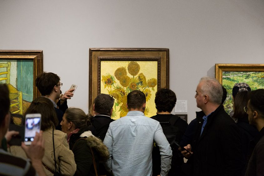 Fabian Fröhlich, National Gallery London, Vincent van Gogh, Sunflowers