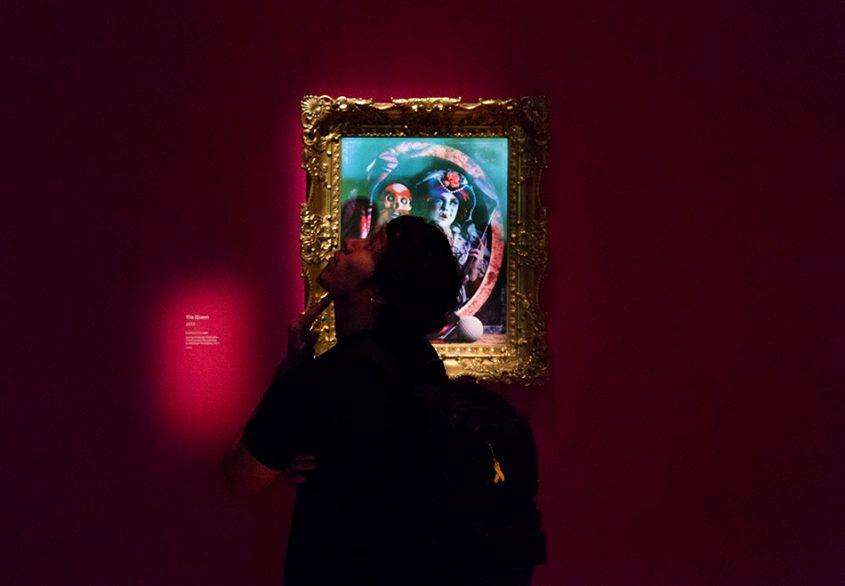 Fabian Fröhlich, National Gallery London, Rachel Maclean, The Queen