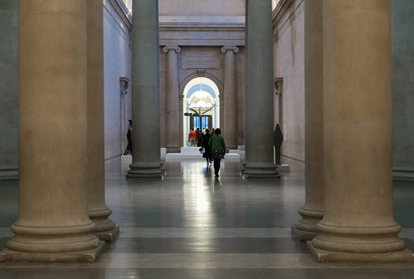 Fabian Fröhlich, Tate Britain, central Hall