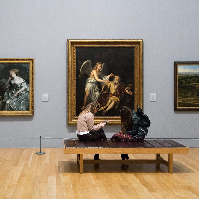 Fabian Fröhlich, Tate Britain, Godfrey Kneller, Elijah and the Angel