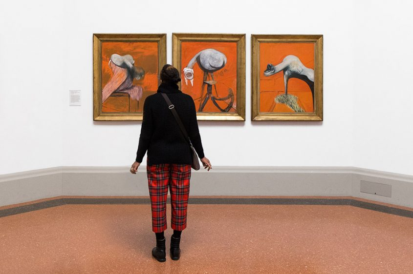 Fabian Fröhlich, Tate Britain, Francis Bacon, Three Studies for Figures at the Base of a Crucification