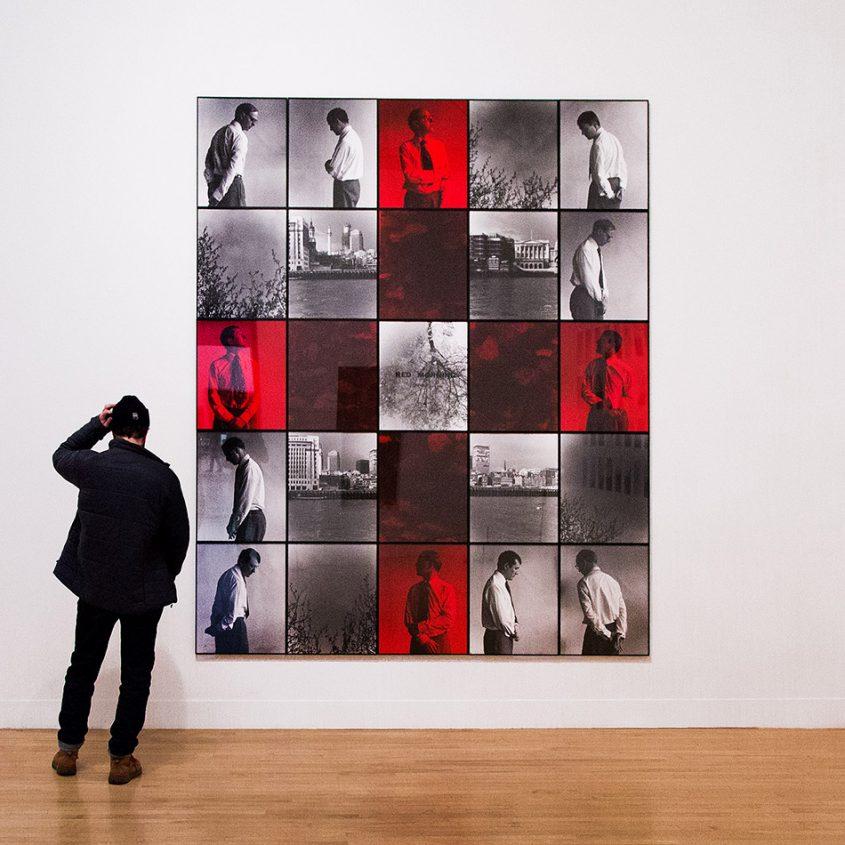 Fabian Fröhlich, Tate Britain, Gilbert & George, Red Morning