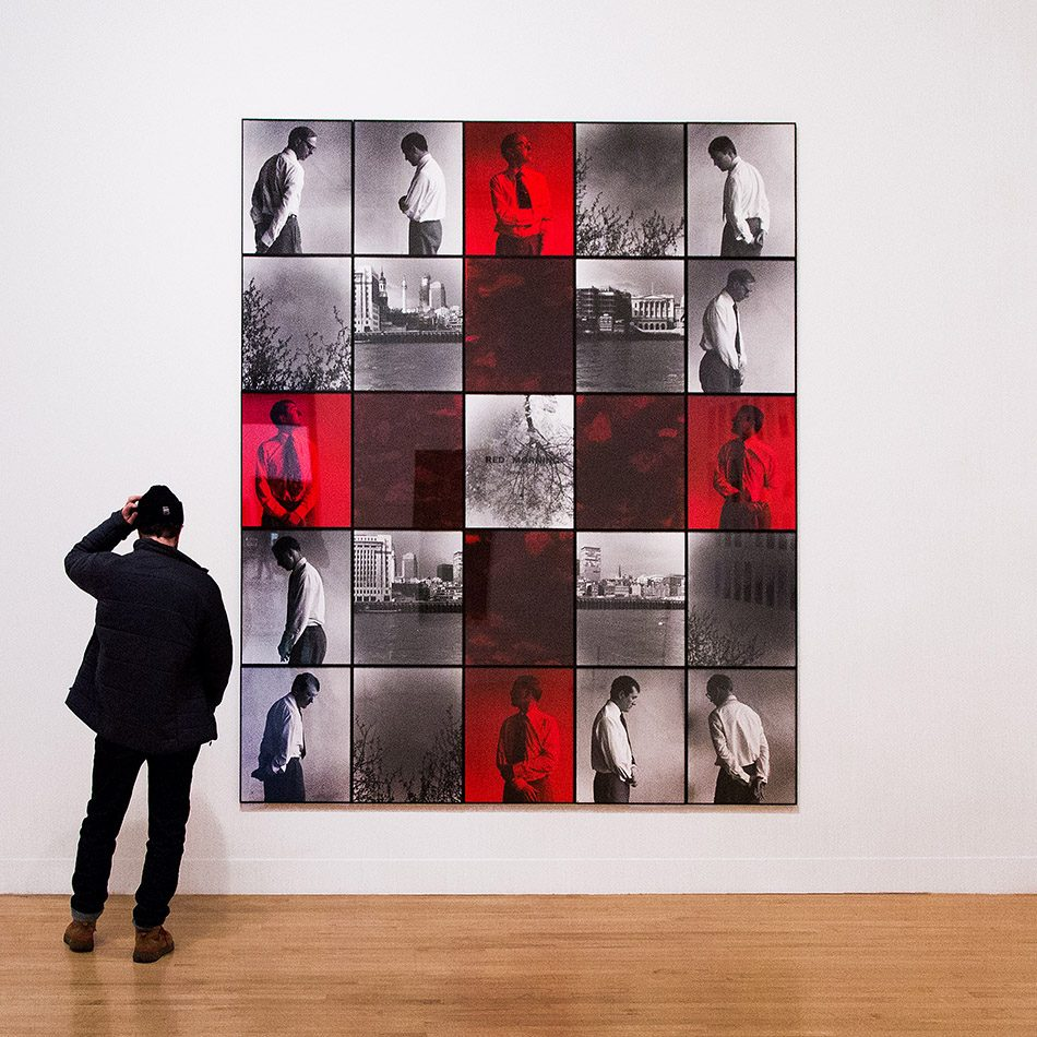 Fabian Fröhlich, Tate Britain, Gilbert & George, Red Morning