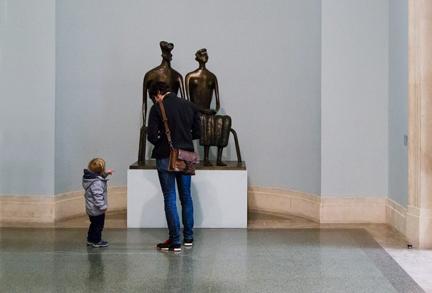 Fabian Fröhlich, Tate Britain, Henry Moore, King and Queen
