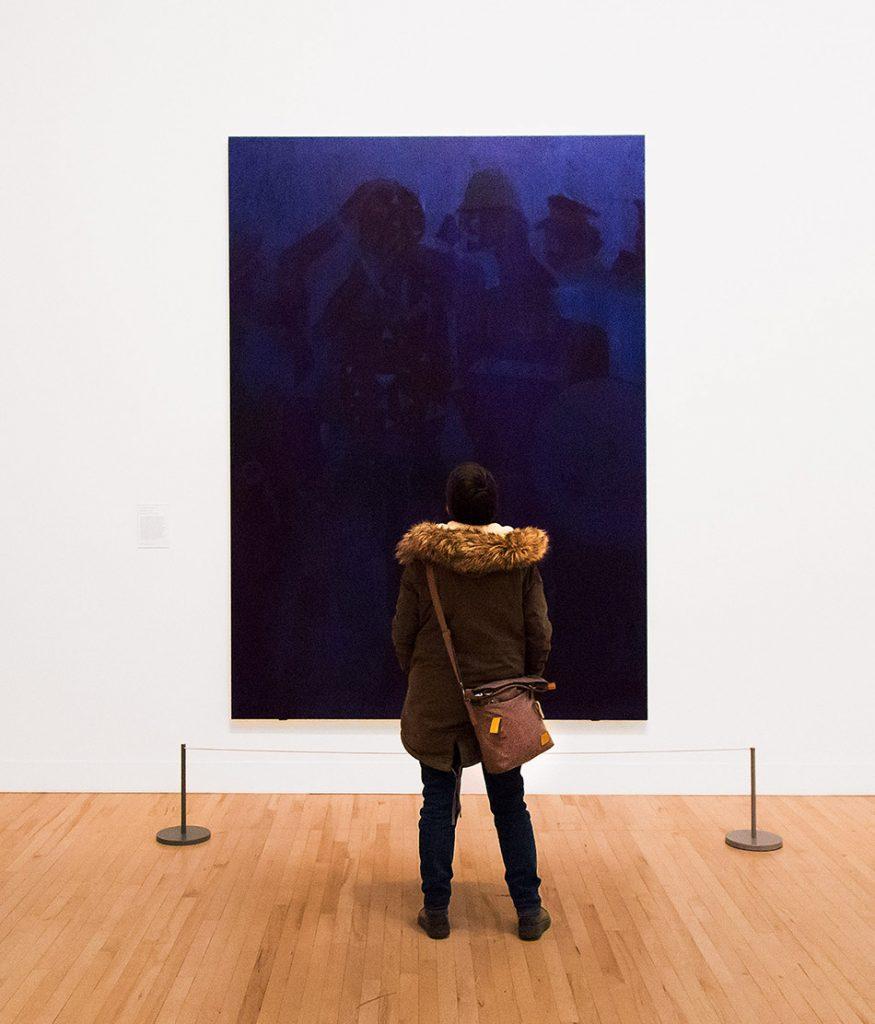 Fabian Fröhlich, Tate Britain, Chris Ofili, Blue Devils